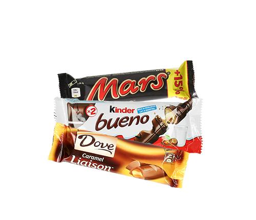 Chocolade snacks